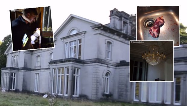 Влегоа во напуштена куќа на нарко бос, а во неа сцени какви нема ниту во филмови (видео)