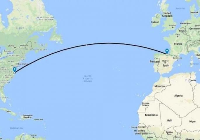 Под Атлантикот поставен кабел низ кој ќе минуваат 160 терабити во секунда