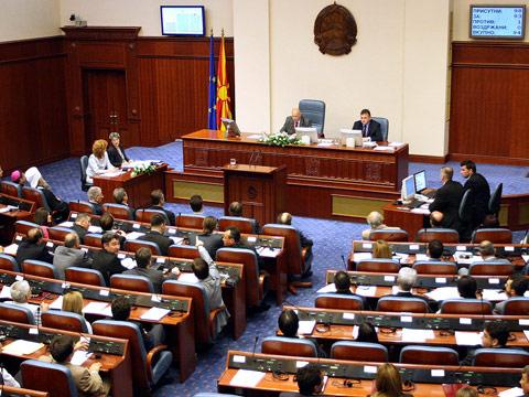 Собранието го донесе Законот за јазиците