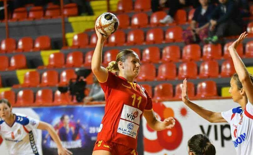 Александра Боризовска блескаше во ракометната репрезентација на Македонија