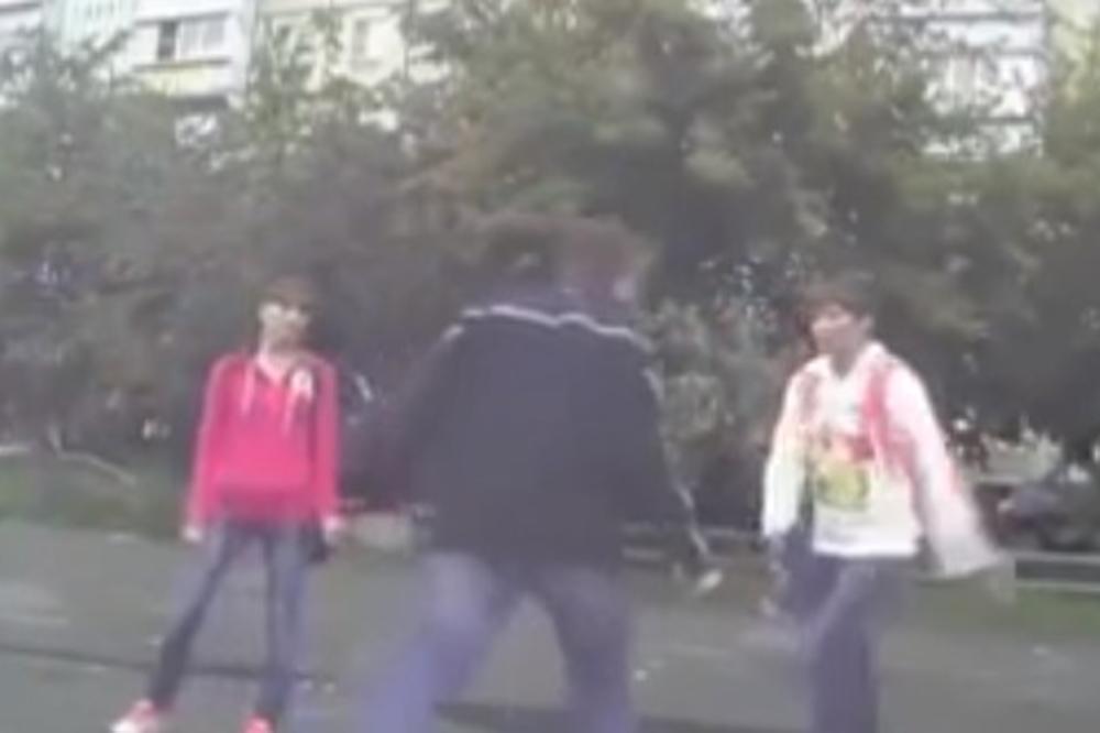 Русин тепал девојка, па случајно наиде шампионка во теквондо и му одржа лекција (видео)