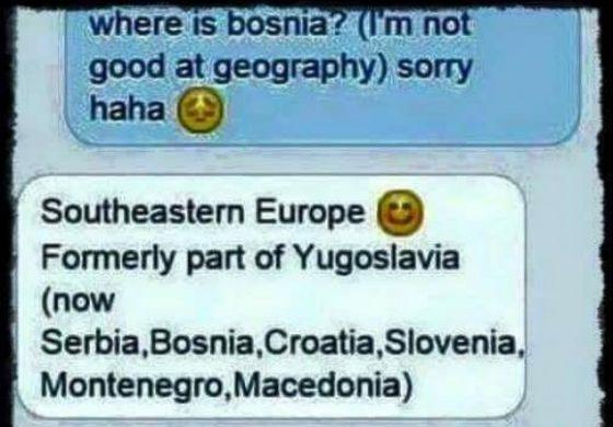 Почнуе како мување преко интернет, све док не прашаш за Југославију (фото)