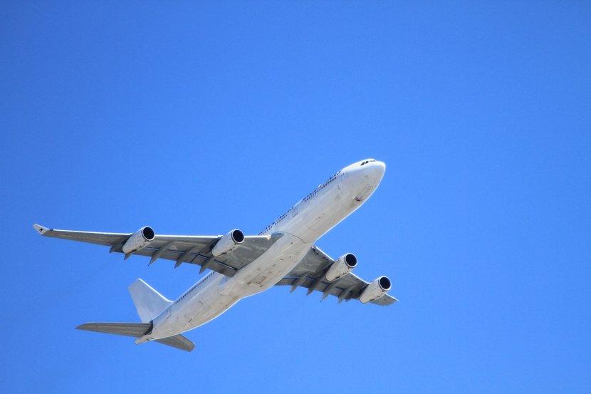 За среќен лет, бабичка фрлила монета во мотор од авион