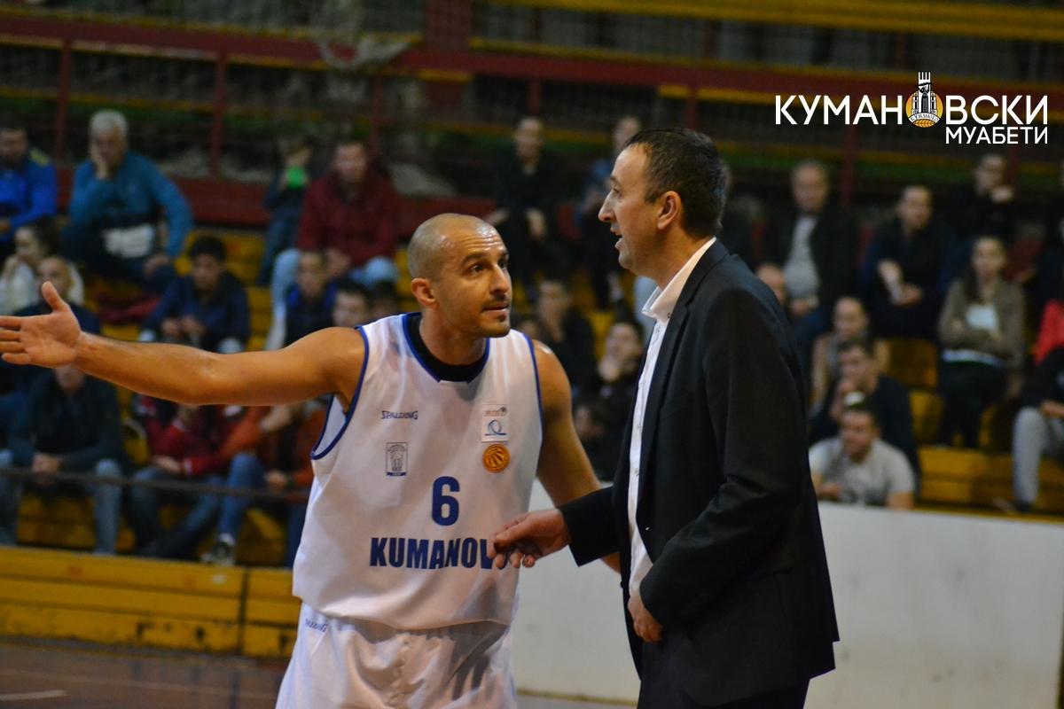 КК Куманово остана без тренер: Игор Михајловски си поднесе оставка