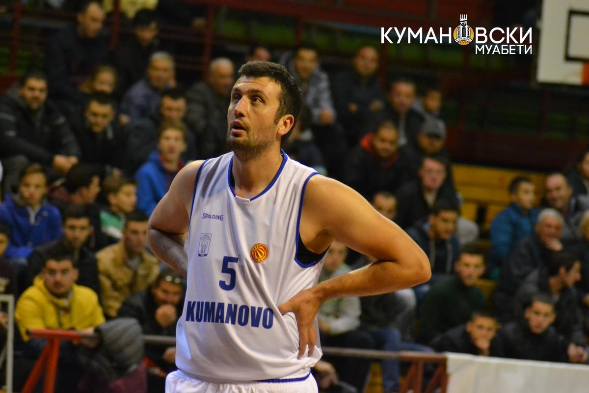 КК Куманово го совлада АВ Охрид