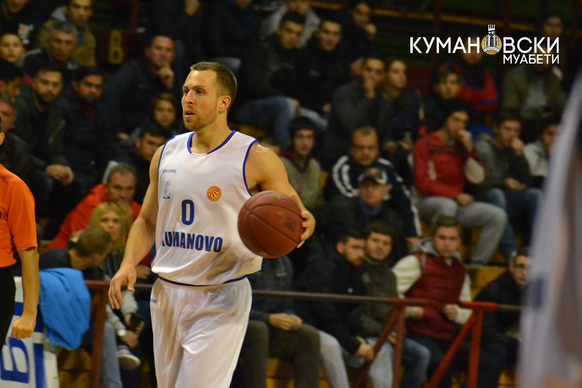 КК Куманово гостува кај АВ Охрид