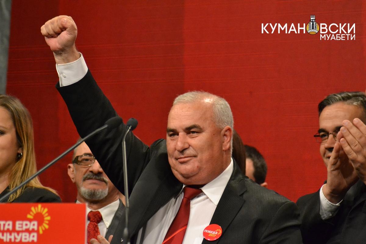 Ѓорѓиевски се заблагодари на граѓаните што го поддржаа и му честиташе на победникот во Куманово