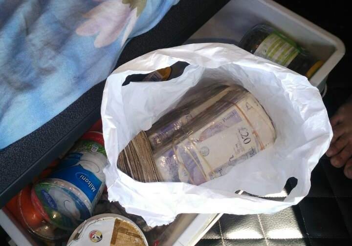 16.080 британски фунти запленети на ГП Табановце (фото)