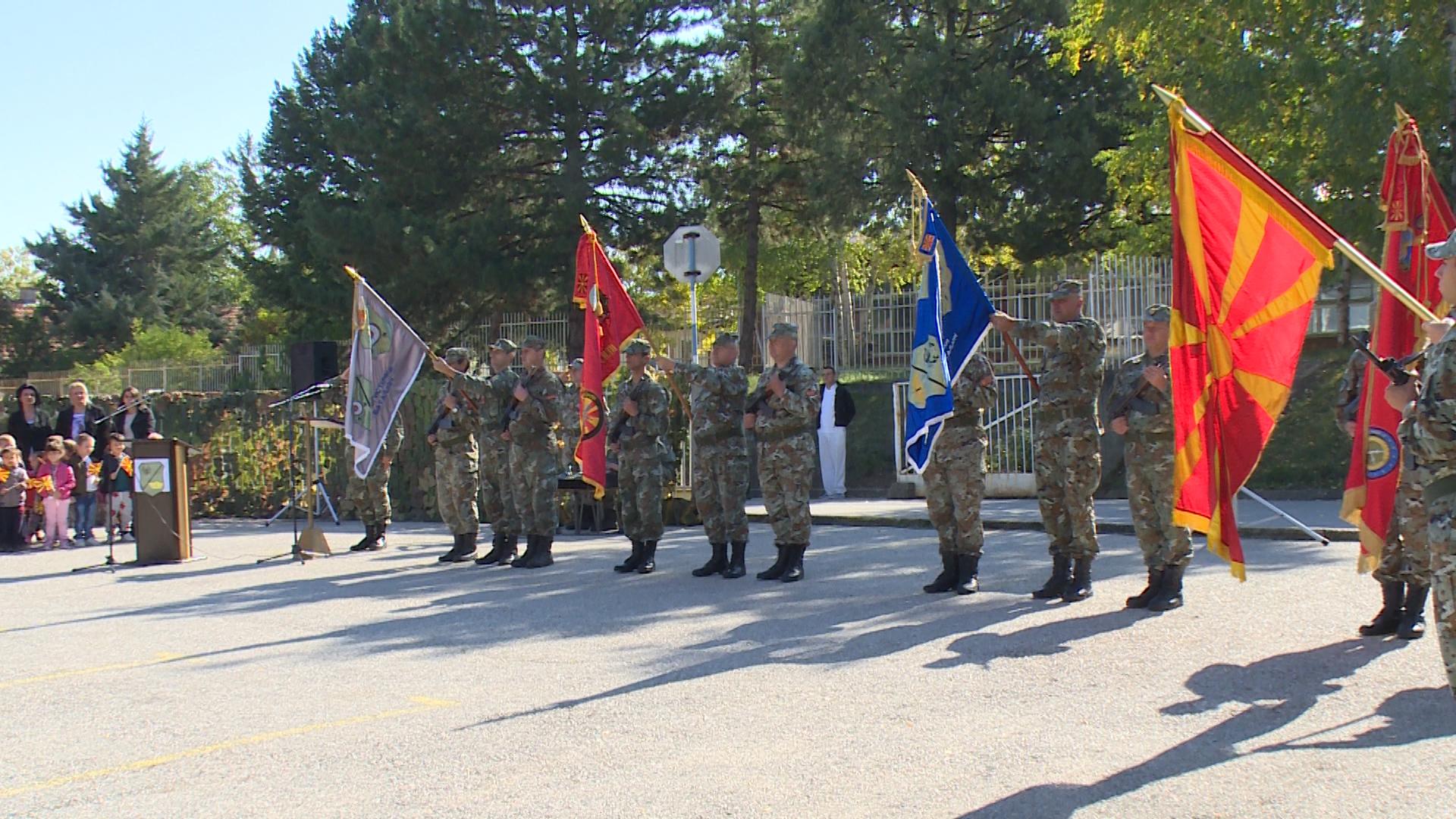 """Кумановската касарна """"Боро Менков"""" го одбележа патрониот празник"""