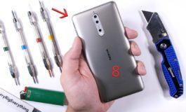 Колкава е издржливоста на новиот Nokia 8? (видео)