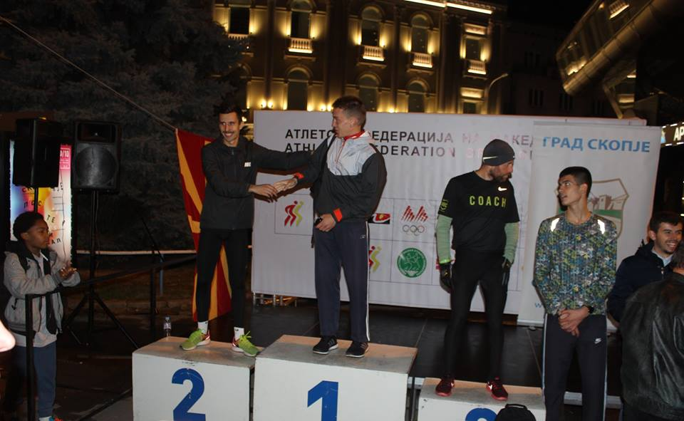 Кумановскиот атлетичар Милош Ранчиќ освои прво место на Ноќната трка во Скопје