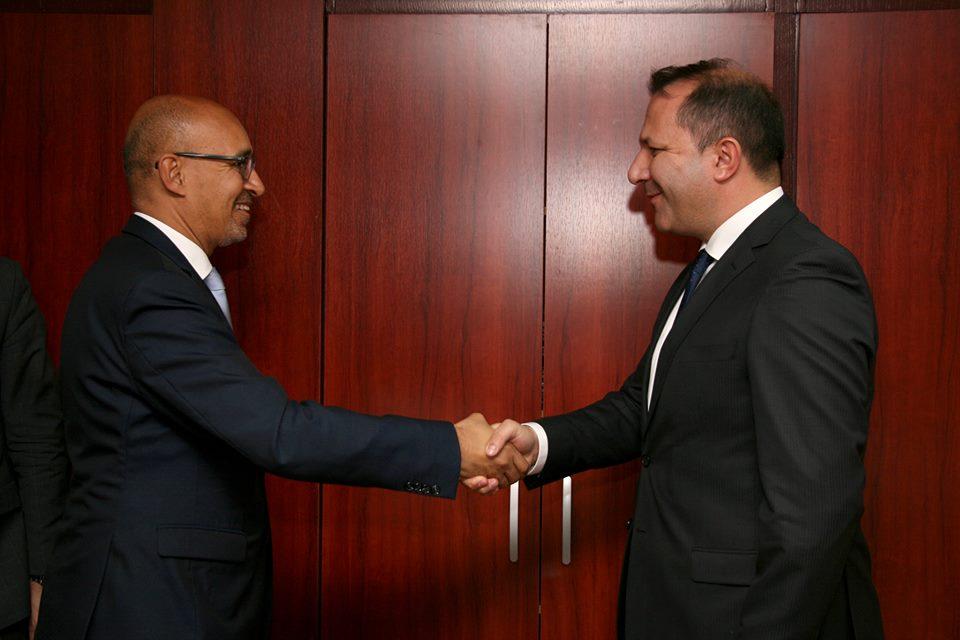 Спасовски се сретна со претставникот за слобода на медиумите на ОБСЕ
