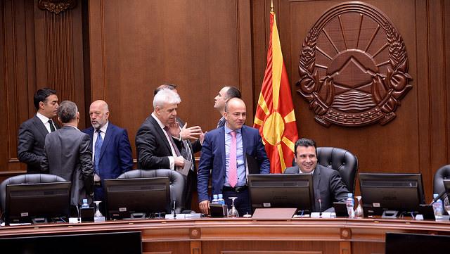 Евроинтеграциите и реализацијата на приоритетите за влез во НАТО на владина седница