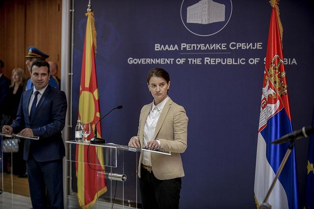Брнабиќ  Седницата на двете влади ќе се оддржи следната година