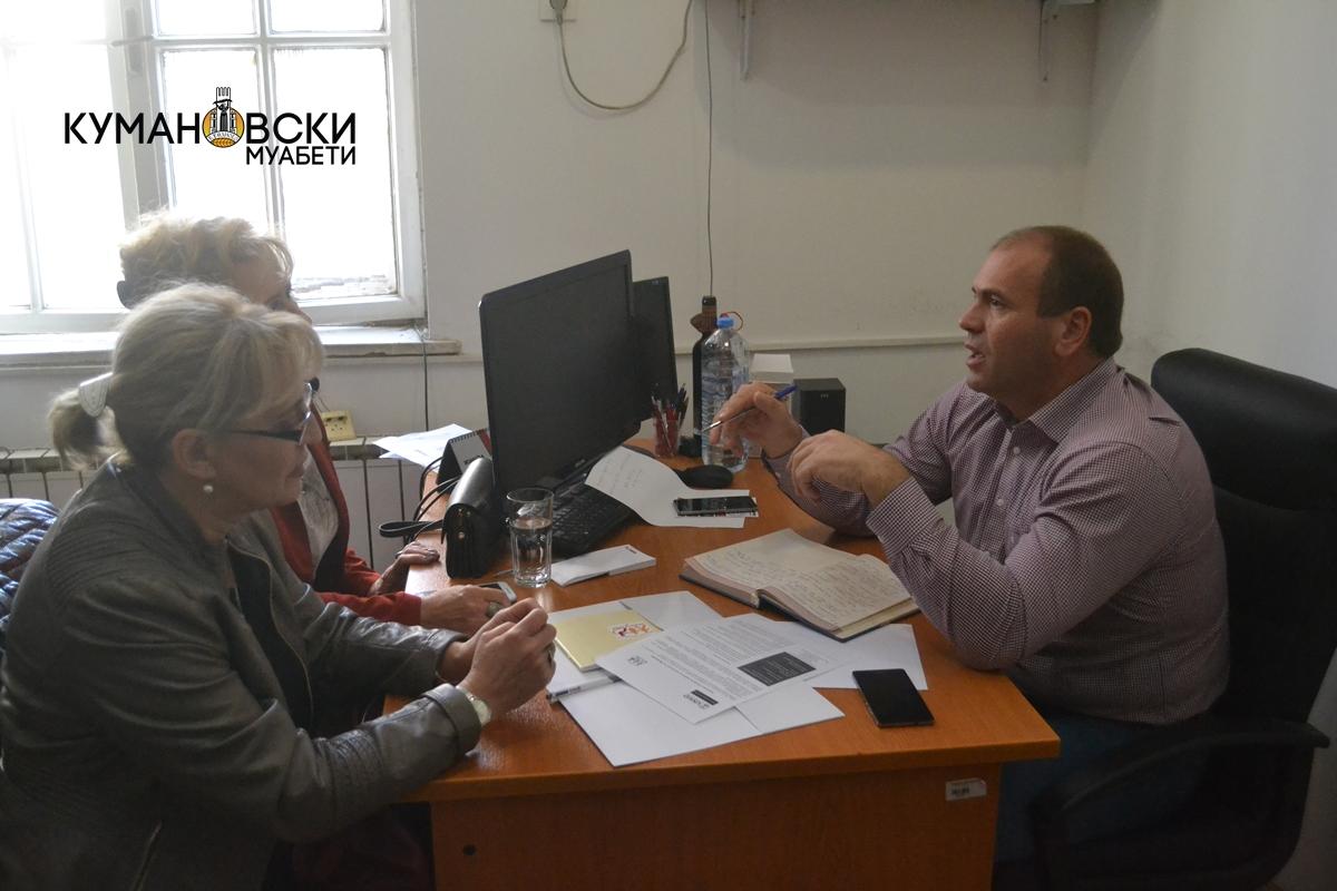 Продолжуваат средбите на градоначалникот Димитриевски со граѓаните