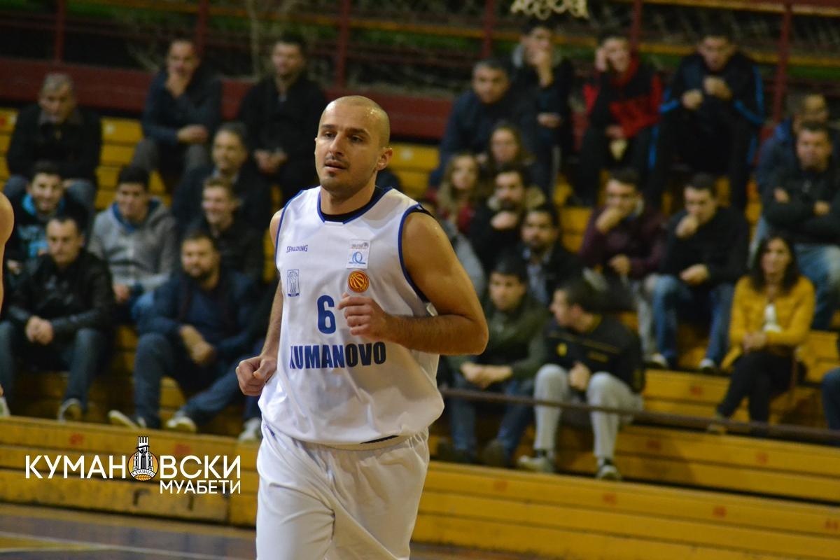 Само Караџовски од КК Куманово ќе заигра во репрезентативниот дрес