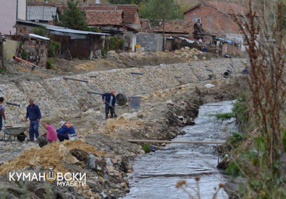 Се уредува речното корито, Димитриевски со апел да не се загадува реката