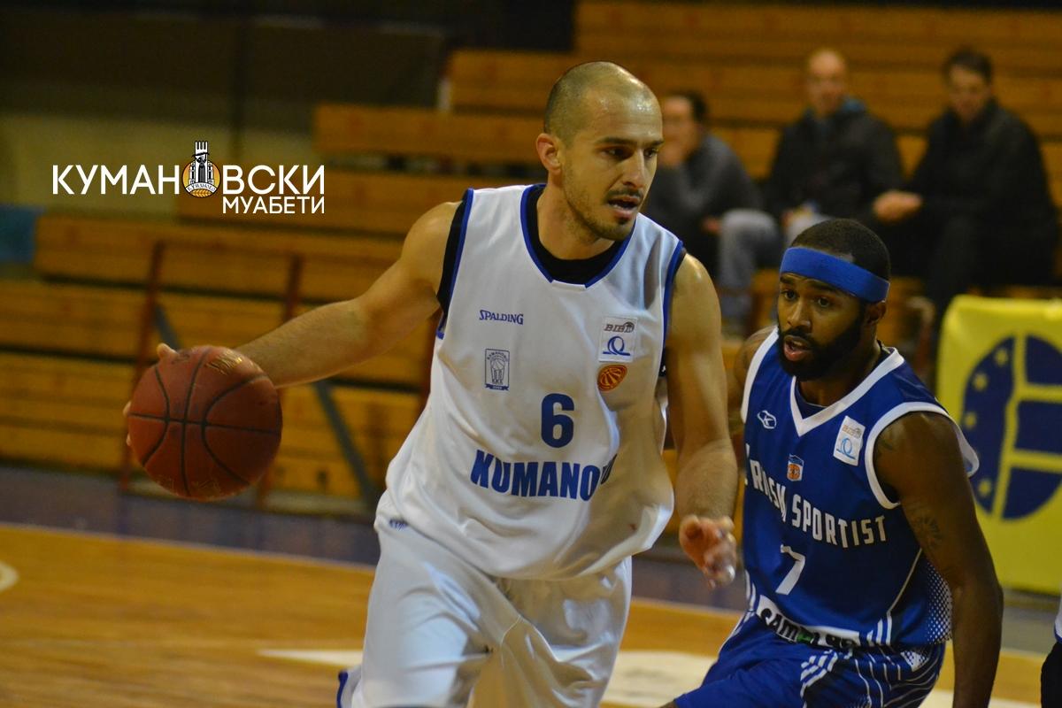 БИБЛ: КК Куманово поразен и од Рилски Спортист (галерија)