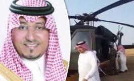 Во пад на хеликоптер загина принцот на Саудиска Арабија