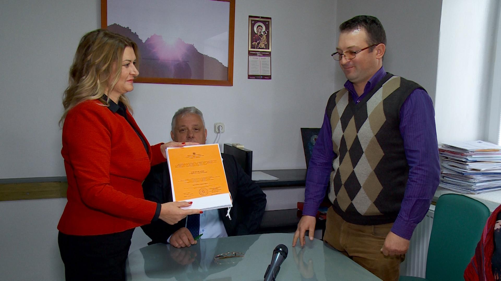 Јовановска ја презеде градоначалничката функција во Старо Нагоричане (фото)