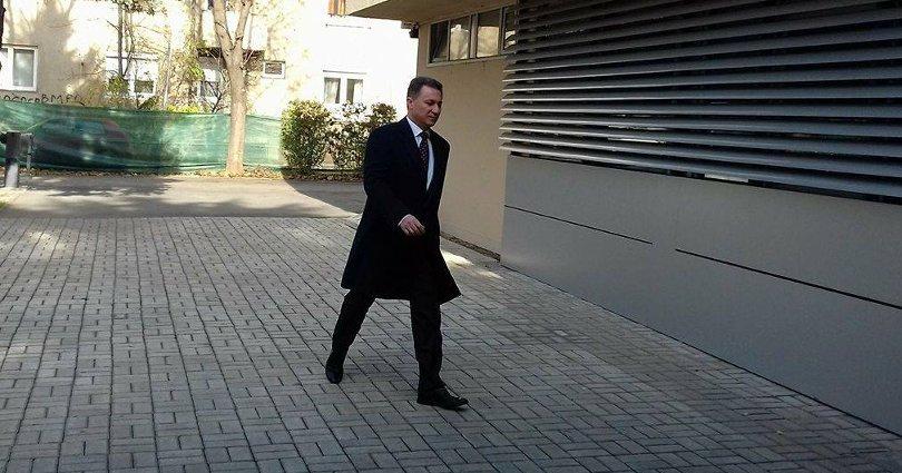 Груевски на распит во СЈО