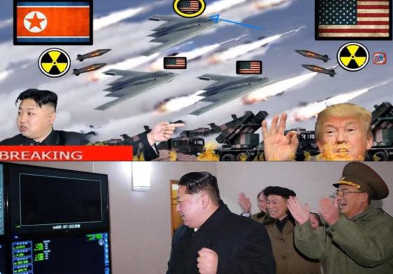 Кого првин ќе нападне Северна Кореја доколку избие војна? (видео симулација)
