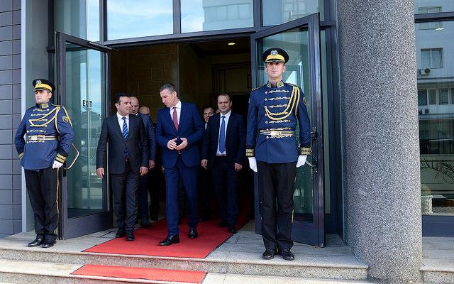 Заев-Харадинај:Отвораме нови можности за унапредување и продлабочување на меѓусебните односи
