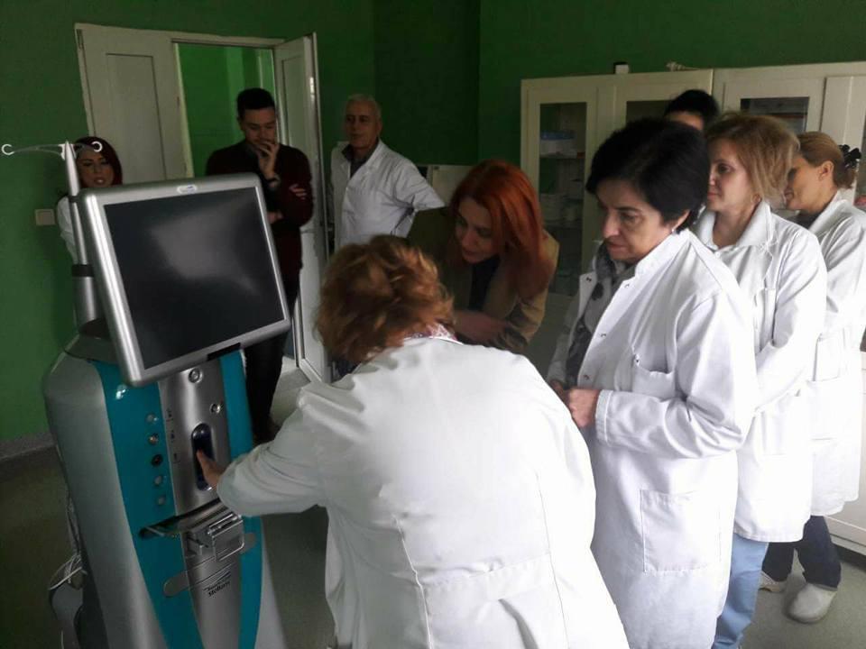 Кумановската болница се поднови со нов апарат за операција на катаракта (фото)