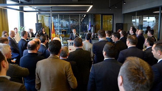 Заев: Создаваме стабилна бизнис клима и одржлив економски модел