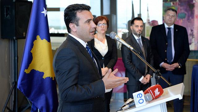 Заев: Ние даваме голема поддршка на дијалогот меѓу Приштина и Белград