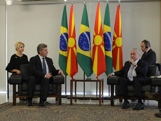 Иванов во официјална посета на Бразил