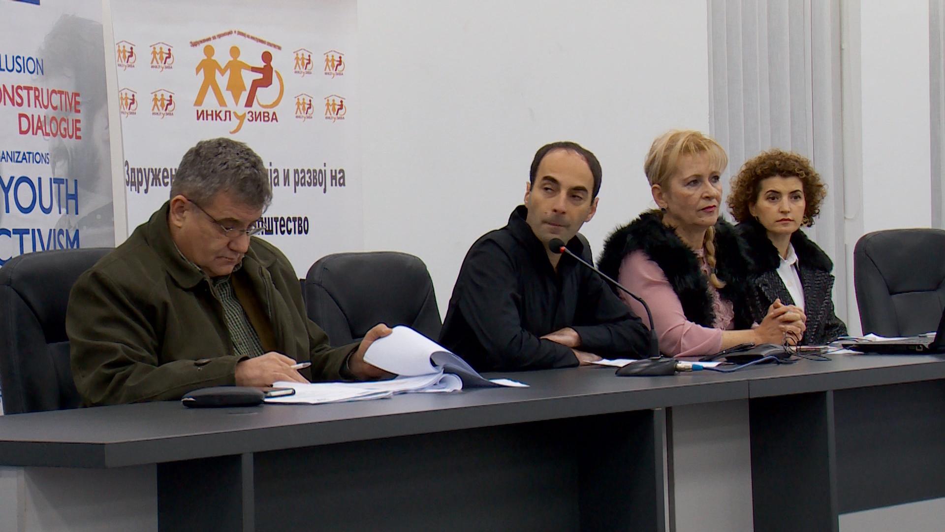 Дебата за политичко учество на лицата со попреченост