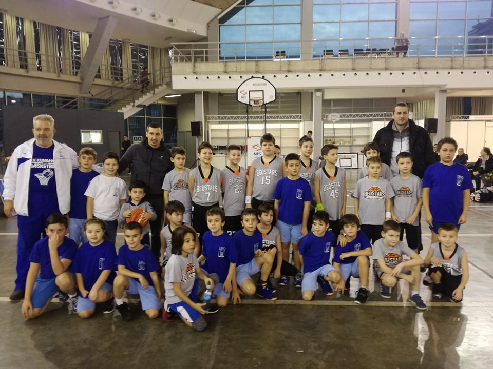 Мини баскет Куманово учествуваше на турнир во Србија (фото+видео)