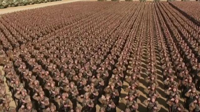Кинеските војници како под конец (видео)