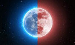 По 150 години на крајот на јануари нè очекува сина и крвава Месечина