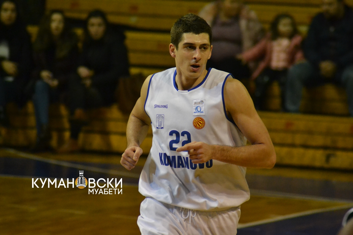 Немања Миљковиќ си замина од КК Куманово