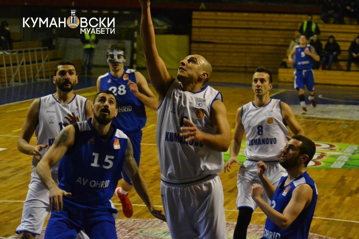 Со 105 поени Куманово триумфираше над АВ Охрид (галерија)