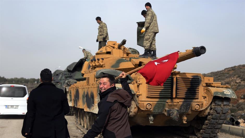Турција ги нападна Курдите во Источна Сирија