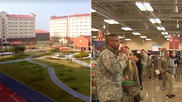 Најголемата американска база: Вреди 11 милијарди долари и се наоѓа на границата со Северна Кореја (фото+видео)