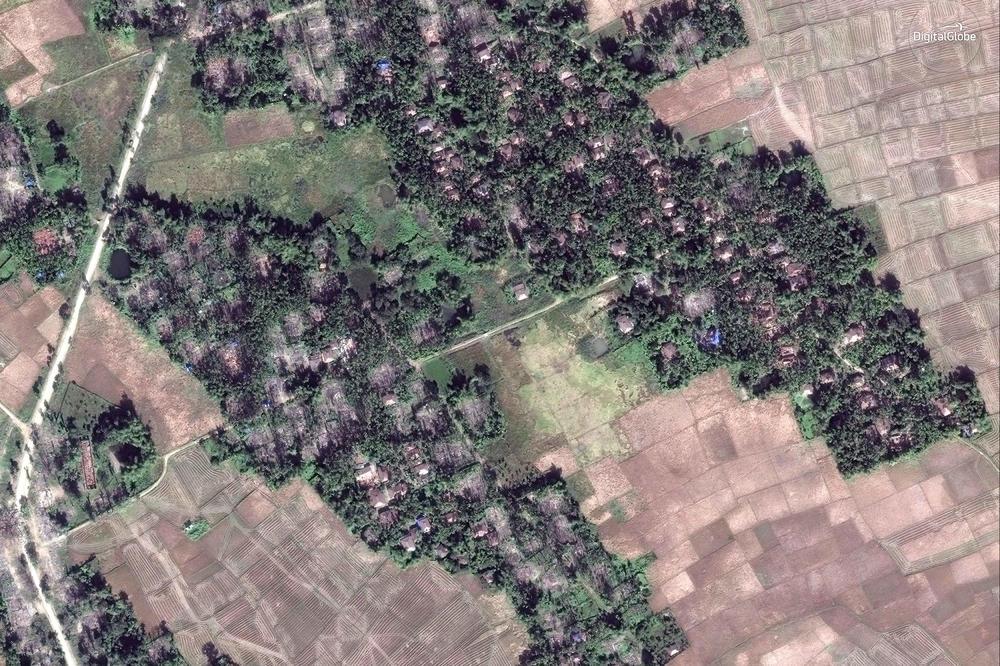 ХРВ: Во Мјанмар над 55 села на Рохинџите срамнети со земја