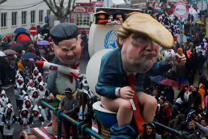 Трам, Путин и Ким Џонг Ун на едно место - Започна карневалот во Португалија (ФОТО)