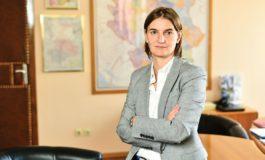 Брнабиќ: Непријатно сум изненадена од изјавата на Пахор за Косово