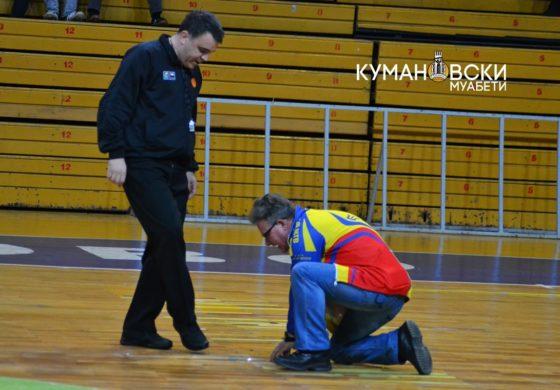 (ФОТО) Дупка до дупка – Спортска сала Куманово