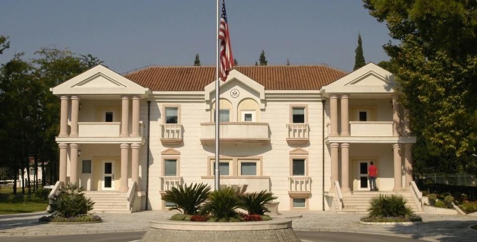 Инцидент пред Амбасадата на САД во Подгорица