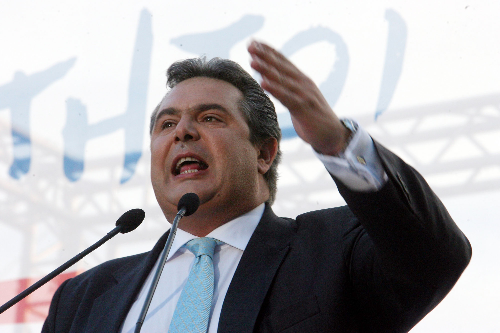 Каменос: Ќе направам се за да не се даде името Македонија