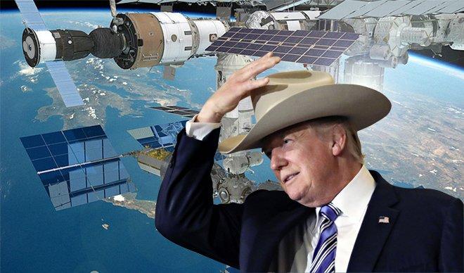 Трамп планира да ја продаде Меѓународната вселенска станица
