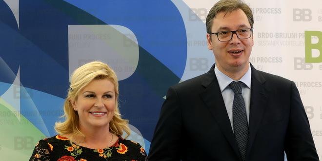 Вучиќ во Загреб на средби со хрватскиот државен врв