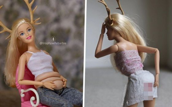 Барби куклите сега имаат стомак, целулит и менструација (ФОТО+ВИДЕО)