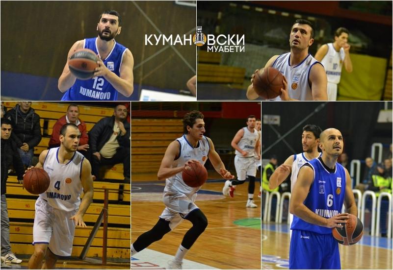 ДОМИНИРААТ: Петмина кошаркари на Куманово на поширокиот репрезентативен список