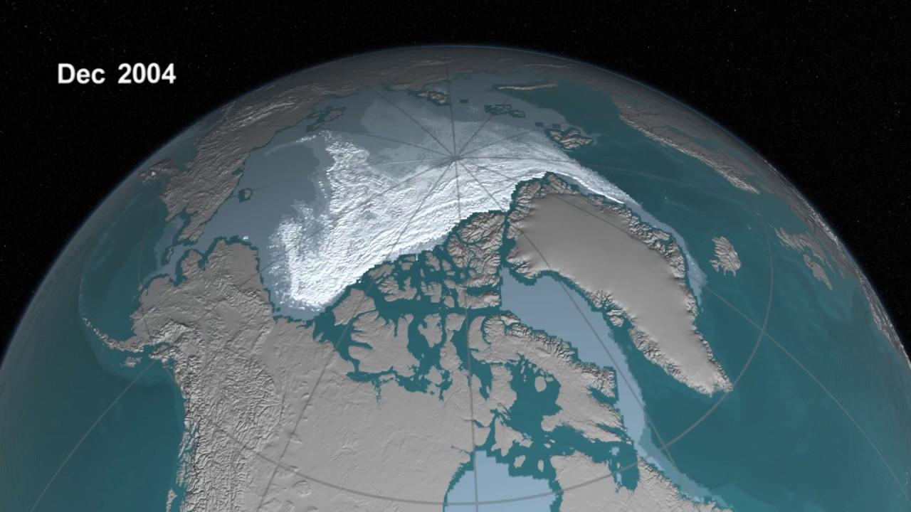 Како исчезнува мразот на Северниот пол? (ВИДЕО)